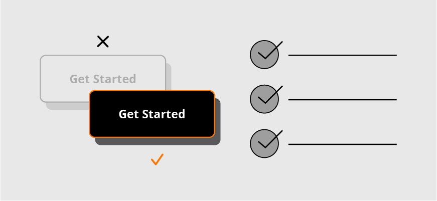 graphic symbolizing using a checklist to get started on making websites ada compliant