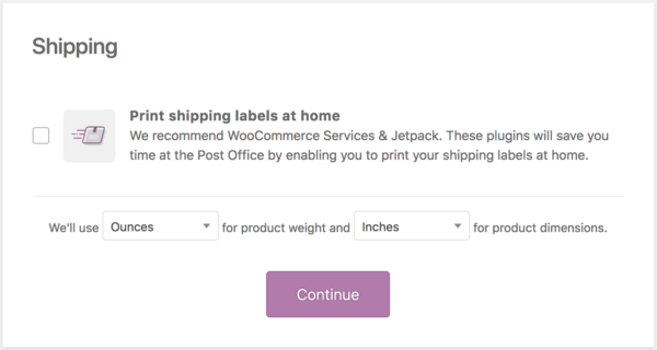 A screenshot of the WooCommerce shipping settings