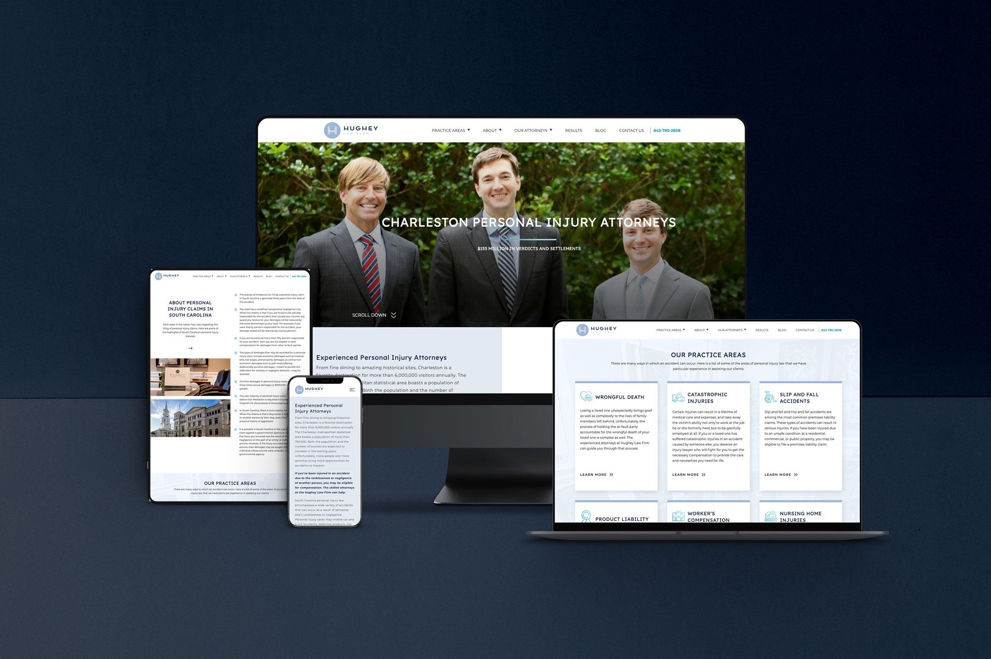 Hughey website on multiple devices