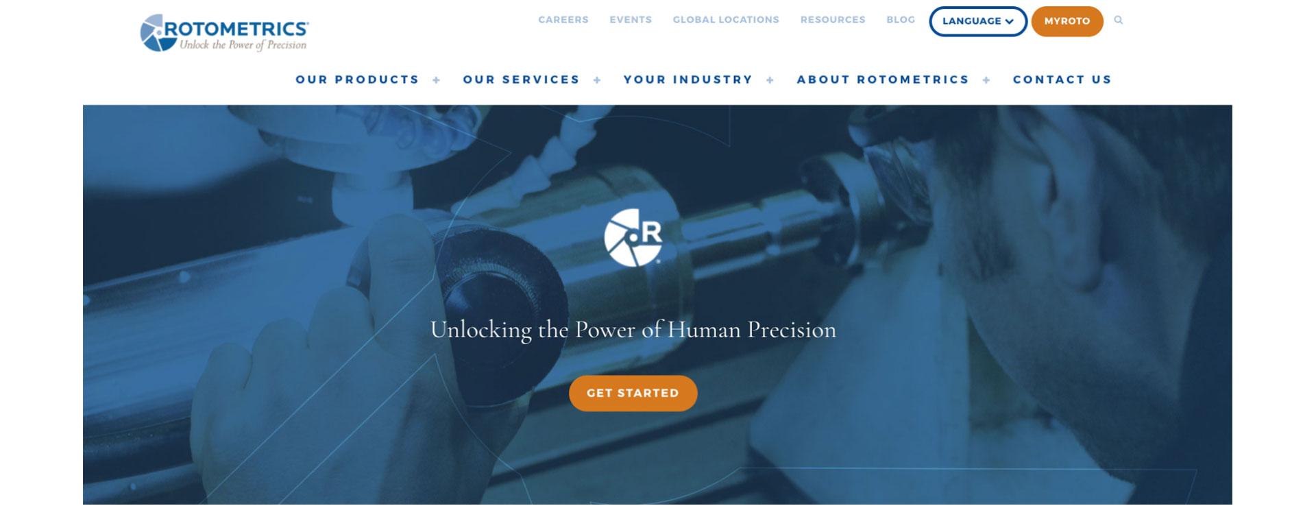 RotoMetric's homepage hero image